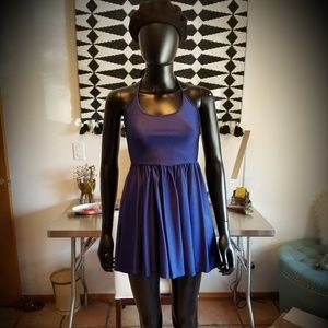 AMERICAN APPAREL MINI SKATER DRESS